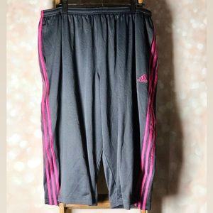 Adidas Pink & Dark Grey Capris/Shorts